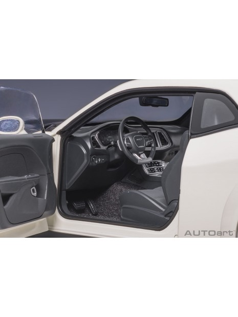 Dodge Challenger SRT Demon (White) 1/18 AUTOart AUTOart - 12
