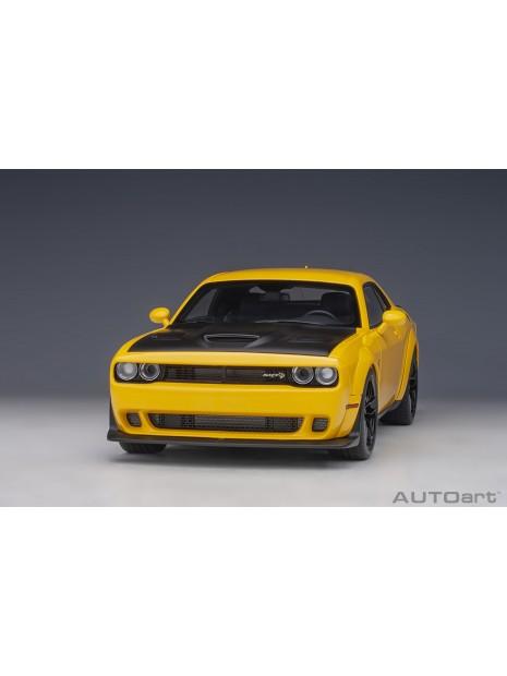 Dodge Challenger SRT Hellcat Widebody (Jaune) 1/18 AUTOart AUTOart - 3