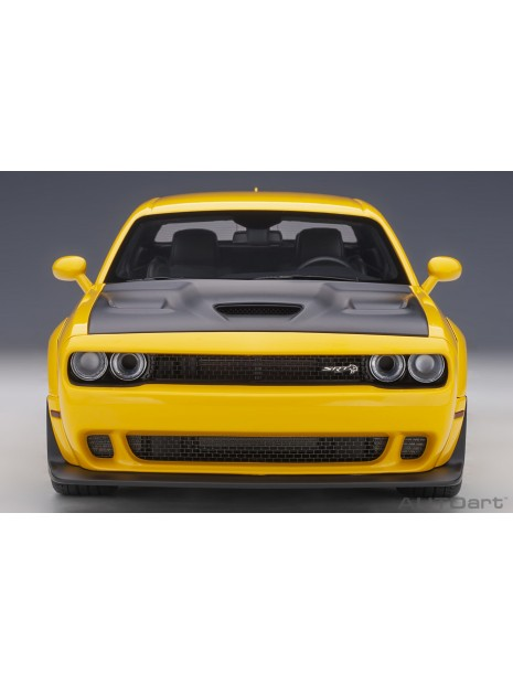 Dodge Challenger SRT Hellcat Widebody (Jaune) 1/18 AUTOart AUTOart - 9