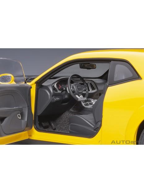 Dodge Challenger SRT Hellcat Widebody (Jaune) 1/18 AUTOart AUTOart - 12