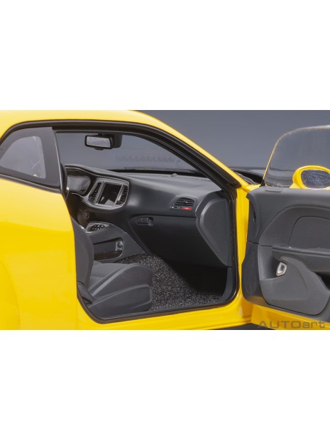 Dodge Challenger SRT Hellcat Widebody (Jaune) 1/18 AUTOart AUTOart - 13