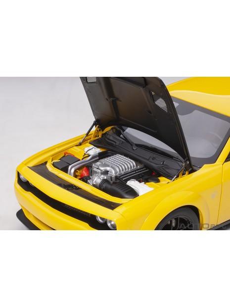 Dodge Challenger SRT Hellcat Widebody (Jaune) 1/18 AUTOart AUTOart - 14