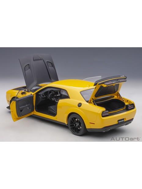 Dodge Challenger SRT Hellcat Widebody (Jaune) 1/18 AUTOart AUTOart - 16