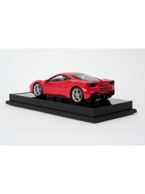 Ferrari 488 GTB 1:18 Amalgam Amalgam - 2
