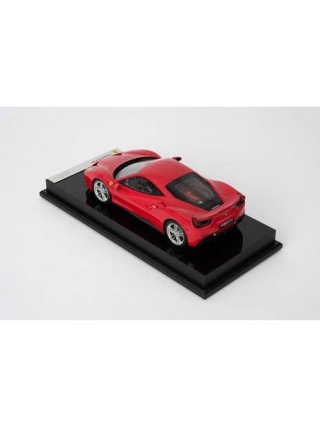 Ferrari 488 GTB 1:18 Amalgam Amalgam - 3