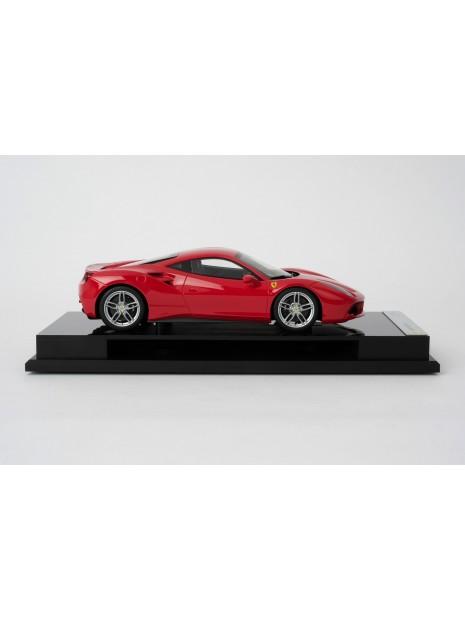 Ferrari 488 GTB 1:18 Amalgam Amalgam - 9