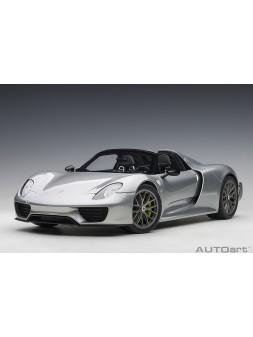 Bugatti Veyron Grand Sport Soft Top (silver) 1:43 Looksmart - 7