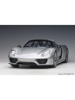 Bugatti Veyron Grand Sport Soft Top (silver) 1:43 Looksmart - 8