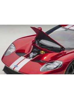 Ferrari 488 Pista Piloti Ferrari (Rosso Corsa) 1/18 BBR - 1