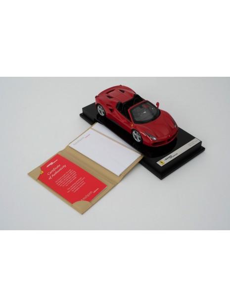 Ferrari 488 Spider 1:18 Amalgam Amalgam - 6