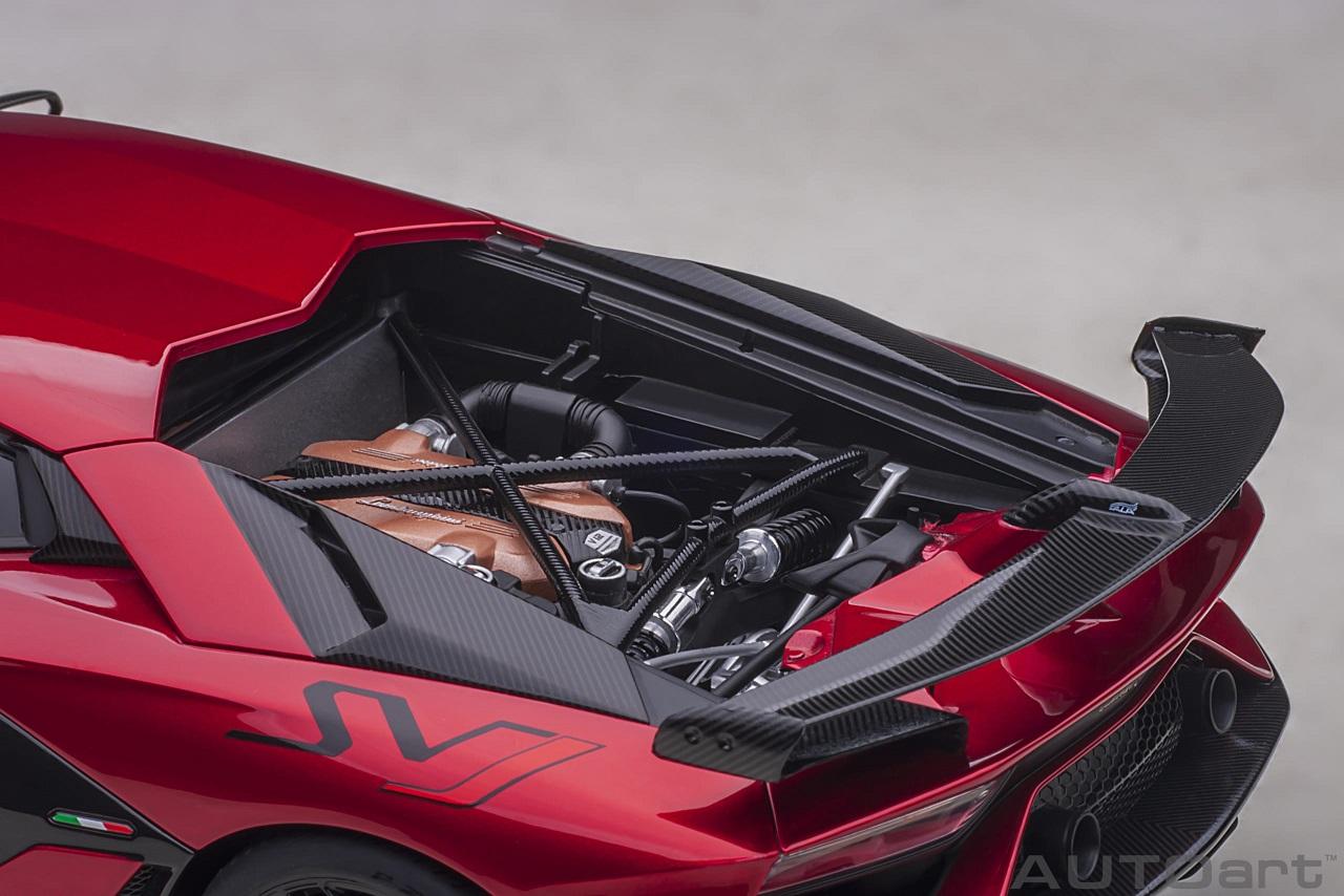 Autoart 1/18 Lamborghini Aventador SJV